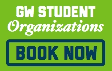 GW Student Organizations- Book Now