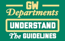 GW Departmental User Guidelines