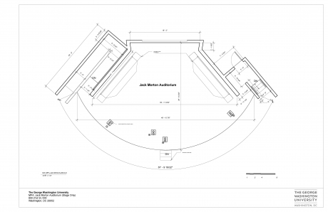 Jack Morton Auditorium Diagram